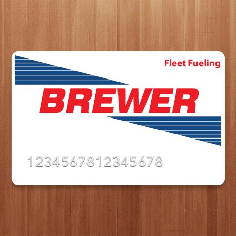 Brewer Oil Fleet Fueling Credit Card